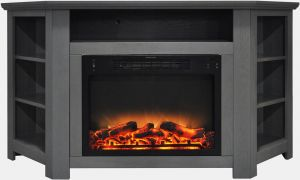 11 New Corner Infrared Fireplace