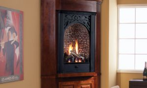 26 Lovely Corner Propane Fireplace