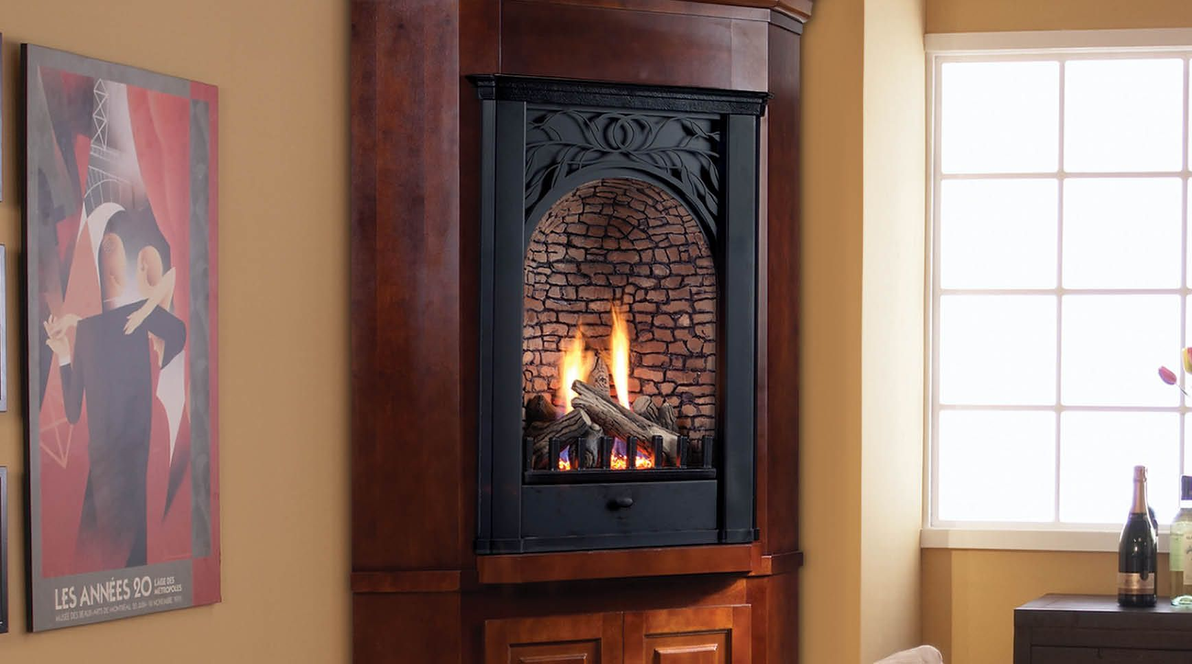 Corner Propane Fireplace Beautiful Pin by Martha Mccafferty On for the Home