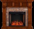Corner Stone Electric Fireplace Beautiful southern Enterprises Merrimack Simulated Stone Convertible Electric Fireplace