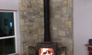 25 Fresh Corner Wood Burning Fireplace
