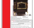 Country Stove and Fireplace New Country Flame Hr 01 Operating Instructions