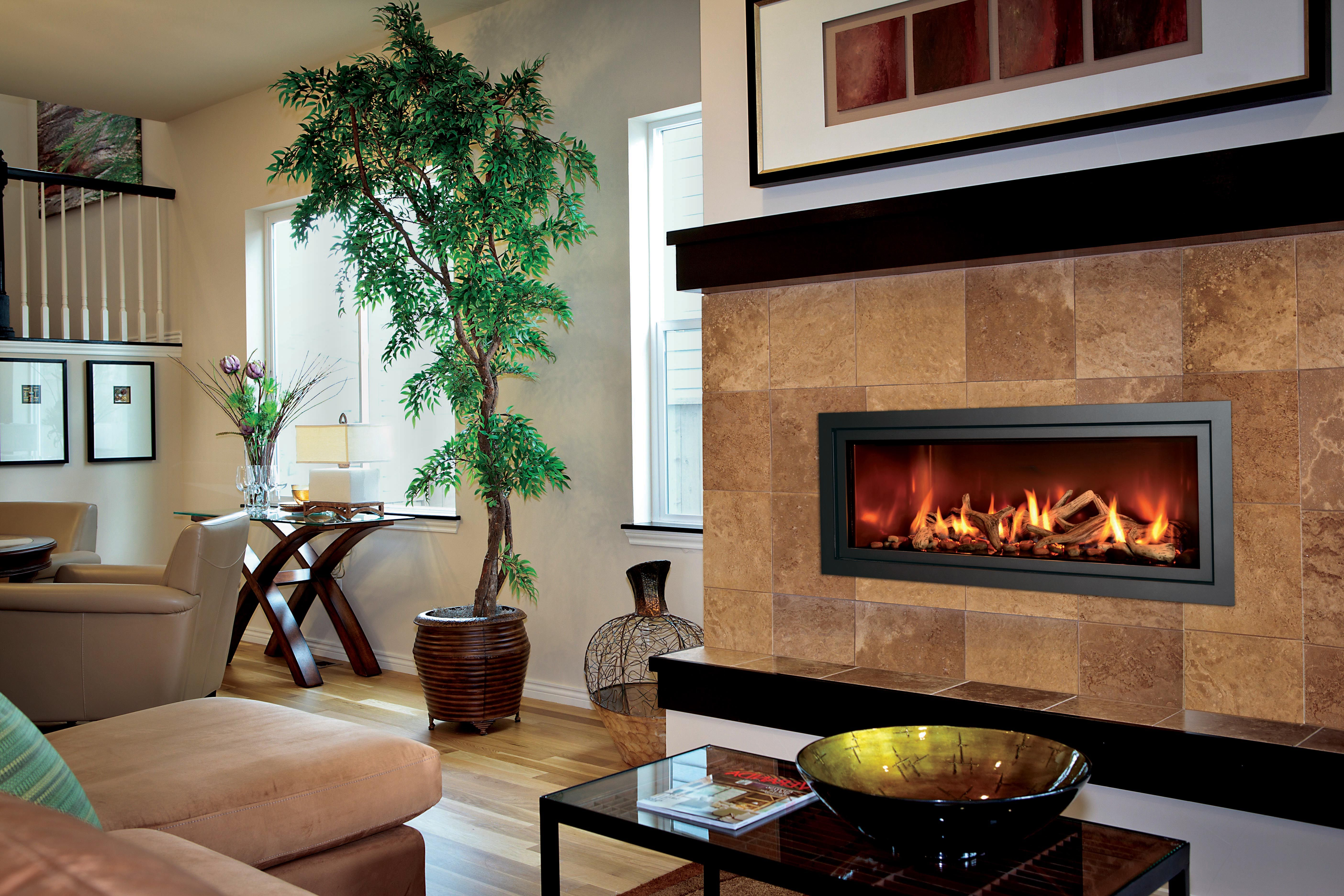 """Custom Gas Fireplace Awesome Just because """"modern"""" is In the Name Doesn T Mean the"""