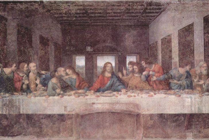 Davinci Fireplace Elegant the Last Supper Leonardo Da Vinci 1490
