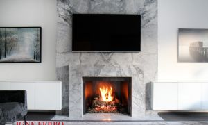 27 Elegant Decorative Gas Fireplace
