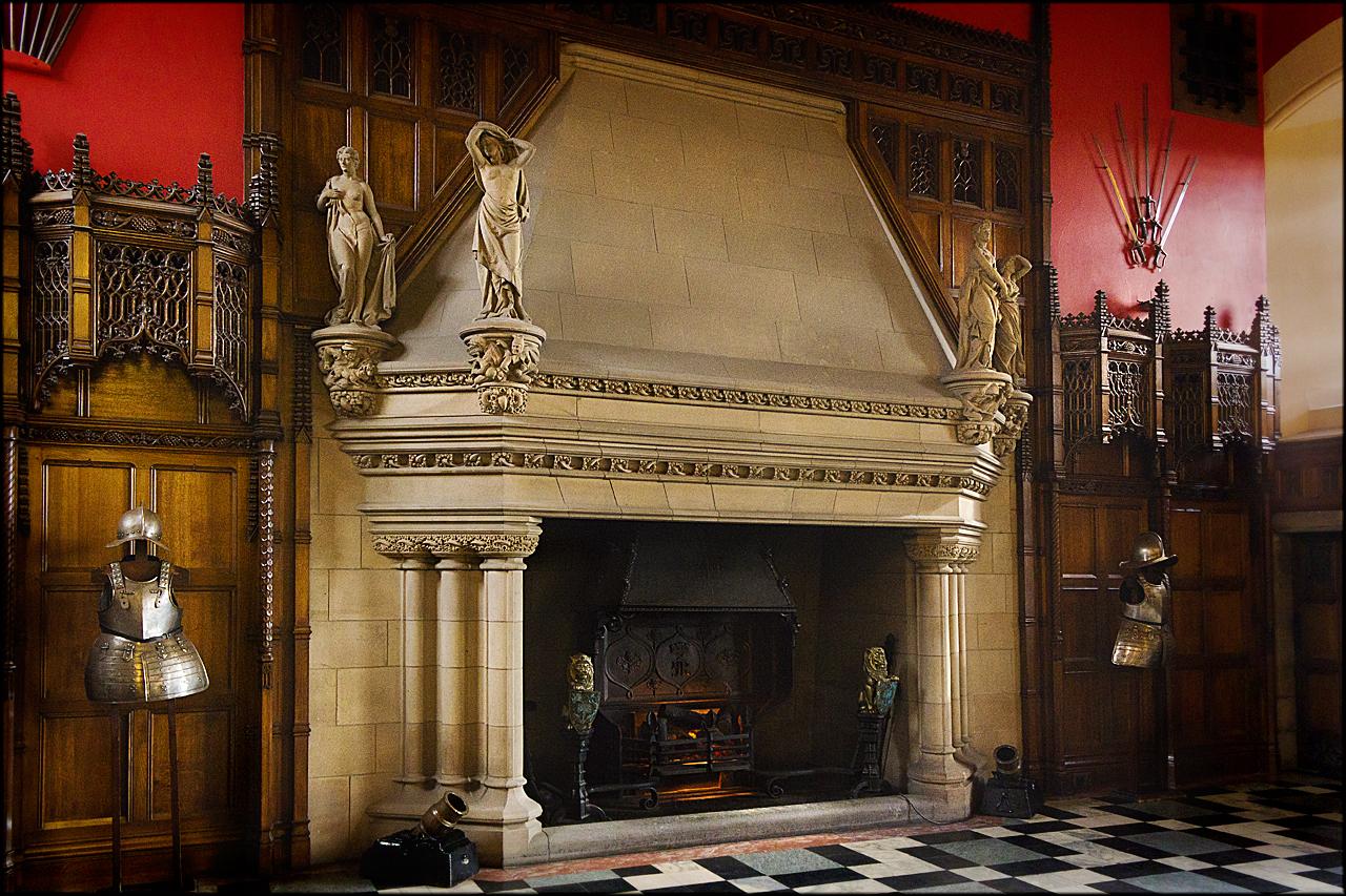 Fireplace Great Hall Edinburgh Castle %