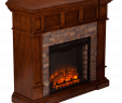 Dimplex Electric Fireplace Parts Beautiful southern Enterprises Merrimack Simulated Stone Convertible Electric Fireplace