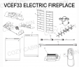 Dimplex Electric Fireplace Parts New Electric Fireplace Parts Charming Fireplace