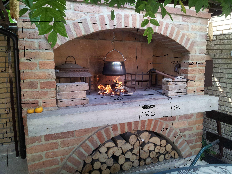 Diy Outdoor Brick Fireplace Awesome Pin On Kamini