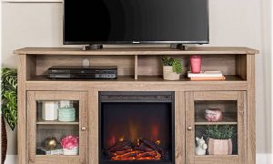 30 Unique Driftwood Fireplace Tv Stand
