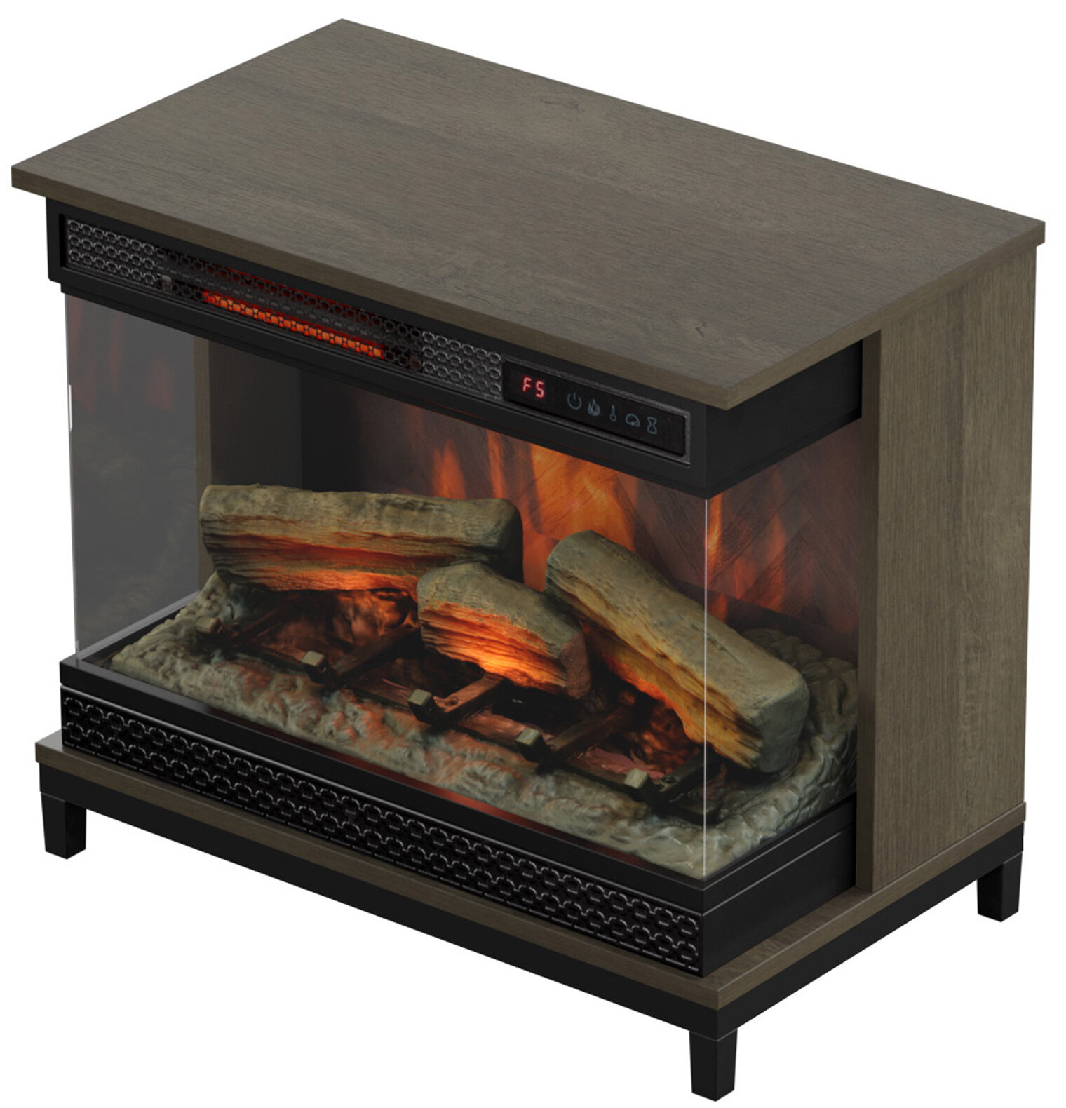 danyell electric fireplace