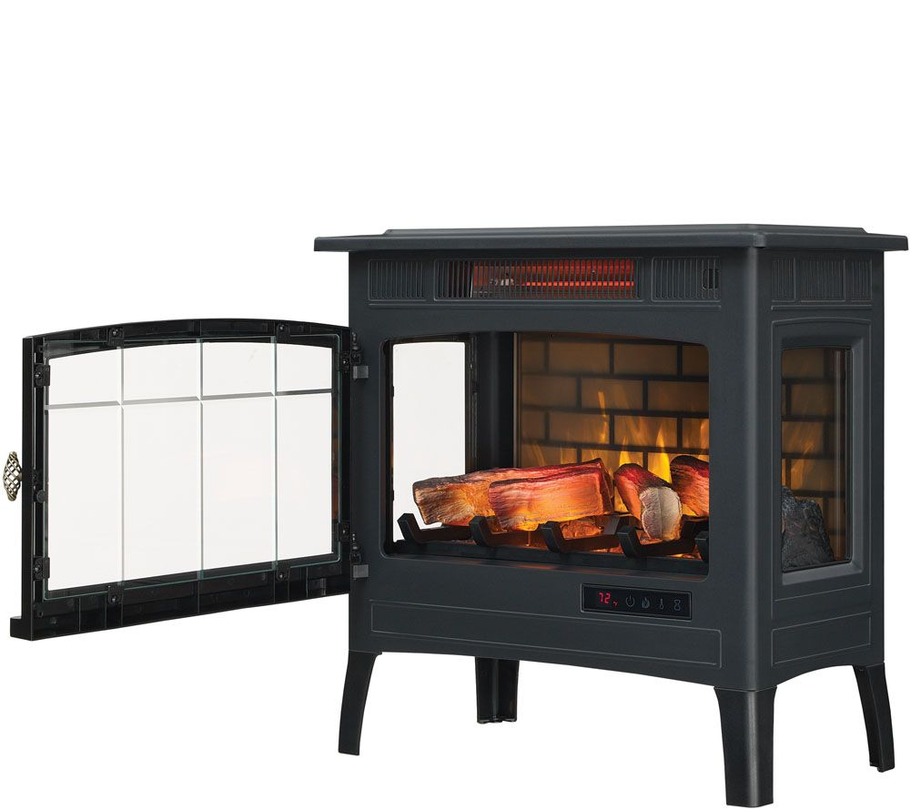 Duraflame Electric Infrared Quartz Fireplace Stove with 3d Flame Effect Awesome Duraflame Infrared Quartz Stove Heater with 3d Flame Effect & Remote — Qvc