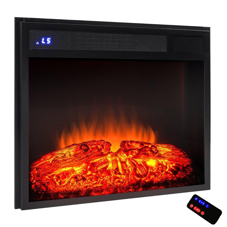 Electric Firebox Fireplace Heater Insert