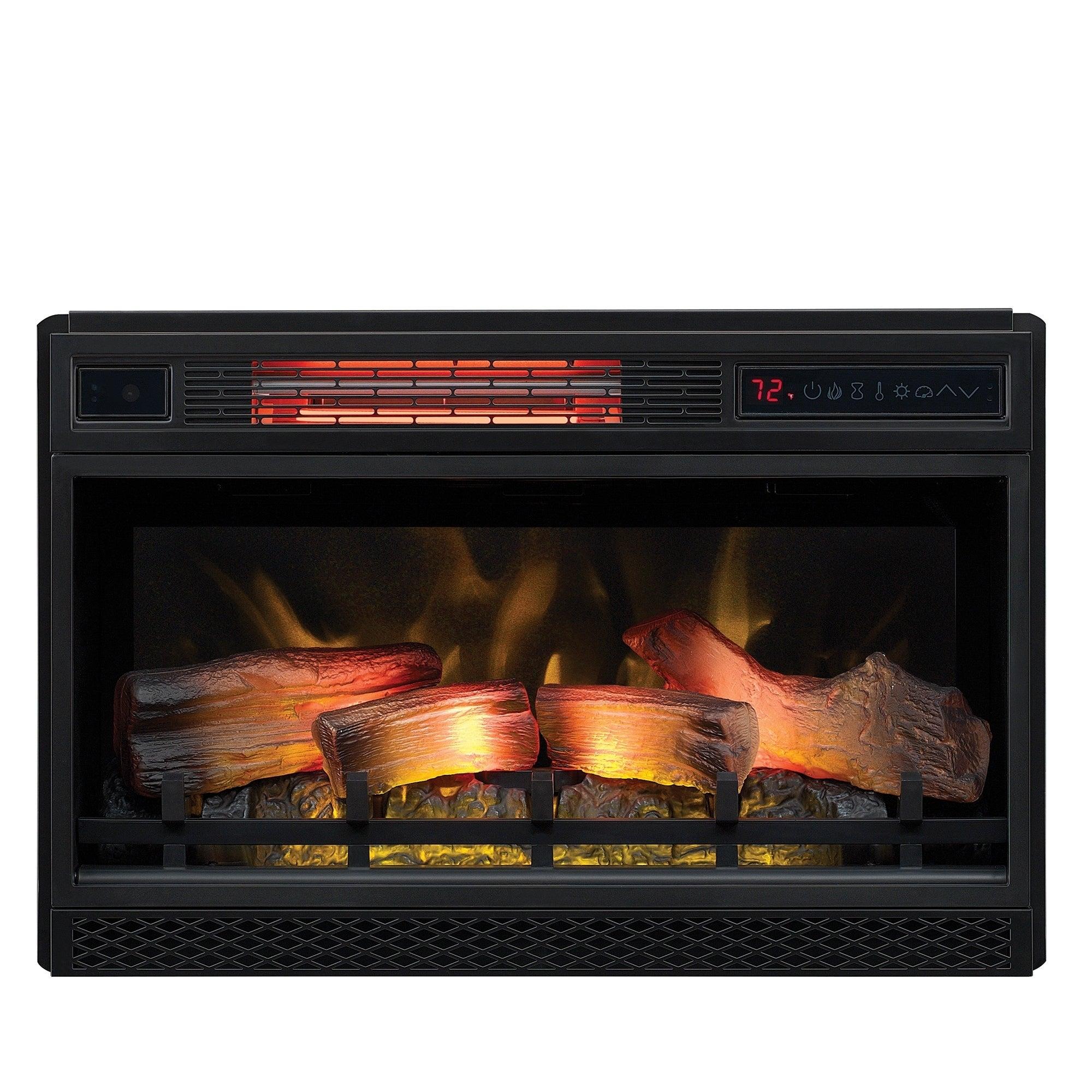 ClassicFlame 26 3D Infrared Quartz Electric Fireplace Insert 9af6e621 c157 40ef 90f2 be4cff39d138