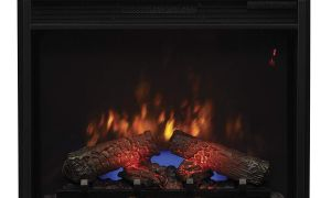 29 Elegant Electric Fireplace Logs with Heat and sound