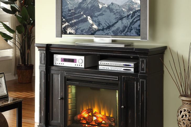 """Electric Fireplace Mantel Tv Stand Awesome Manchester 58"""" Fireplace Media Center Tv Stand Mantel In"""