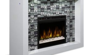 11 Elegant Electric Fireplace with Crystals
