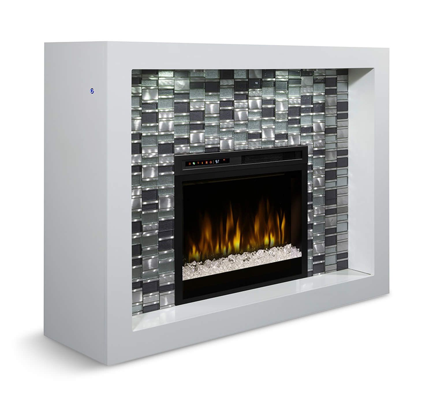Electric Fireplace with Crystals Fresh Crystal Electric Fireplace Fireplace Focus