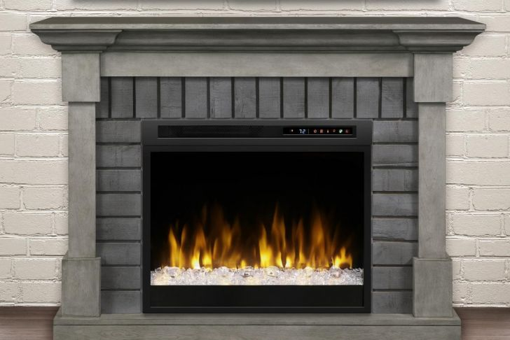 """Electric Fireplace with Wood Mantel Inspirational Dimplex Royce 52"""" Electric Fireplace Mantel Glass Ember"""