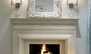 24 Unique Elegant Fireplace Mantels