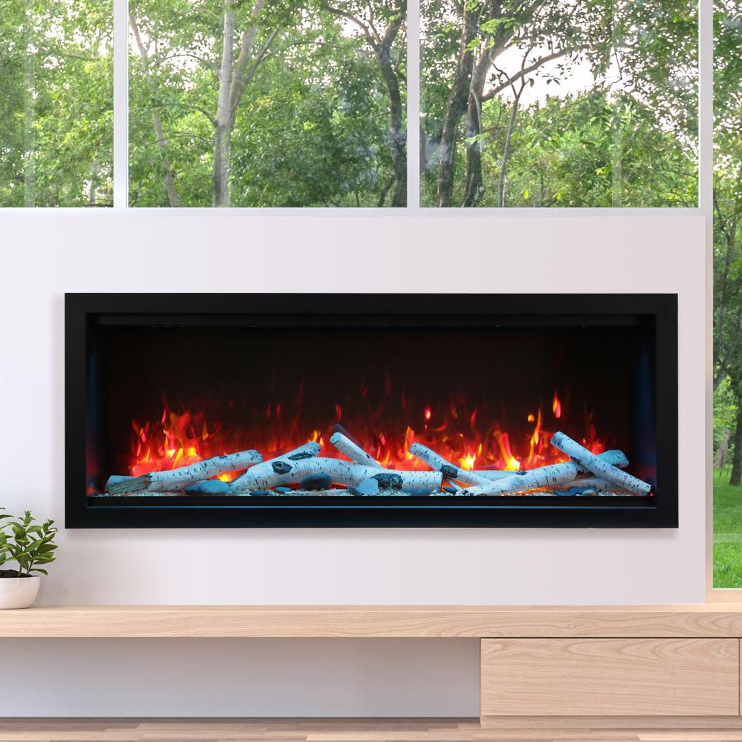 """Extra Large Electric Fireplace Fresh Amantii Symmetry Series Extra Tall 60"""" Built In Electric"""
