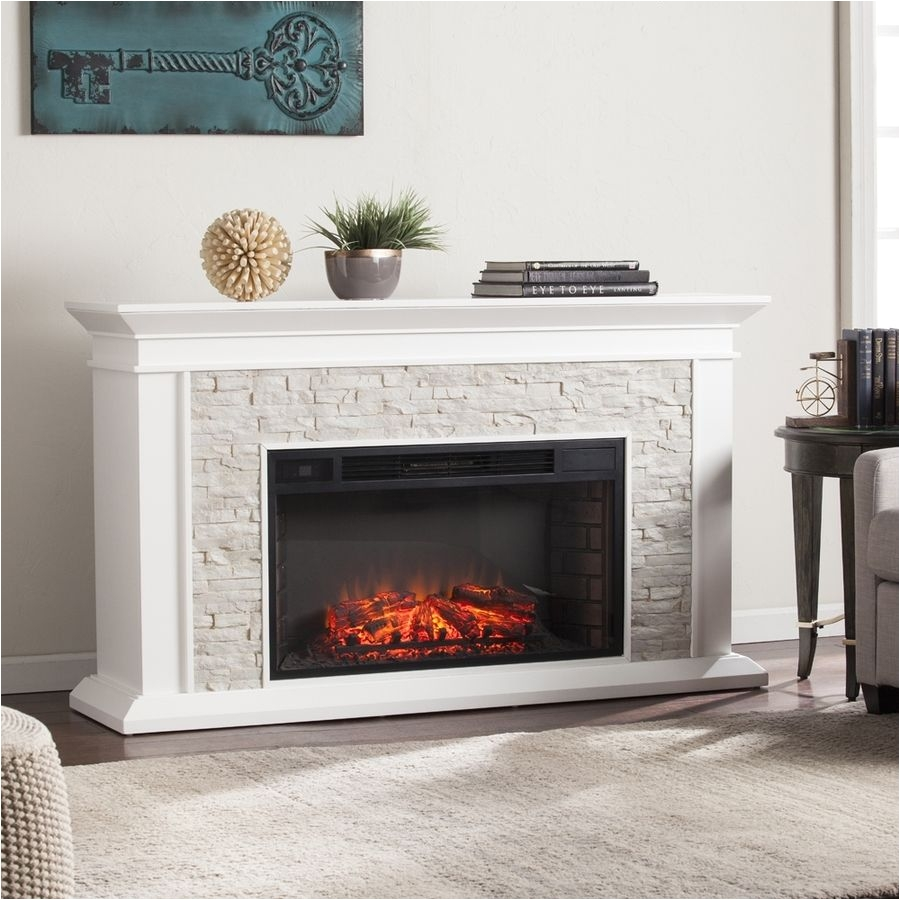 fake fire for fireplace boston loft furnishings 60 25 in w fresh white rustic white faux of fake fire for fireplace