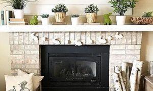 23 Unique Farmhouse Style Fireplace