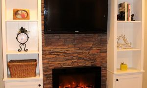 18 Lovely Faux Fireplace Entertainment Center
