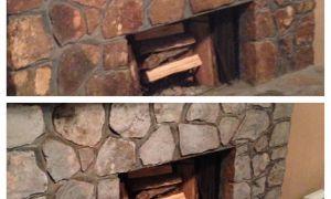 25 Unique Faux Rock Fireplace