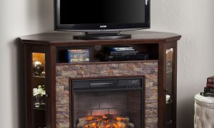 19 Awesome Faux Stone Fireplace Tv Stand