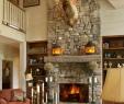 Fieldstone Fireplace Inspirational 17 Amazing Rustic Fireplace Ideas