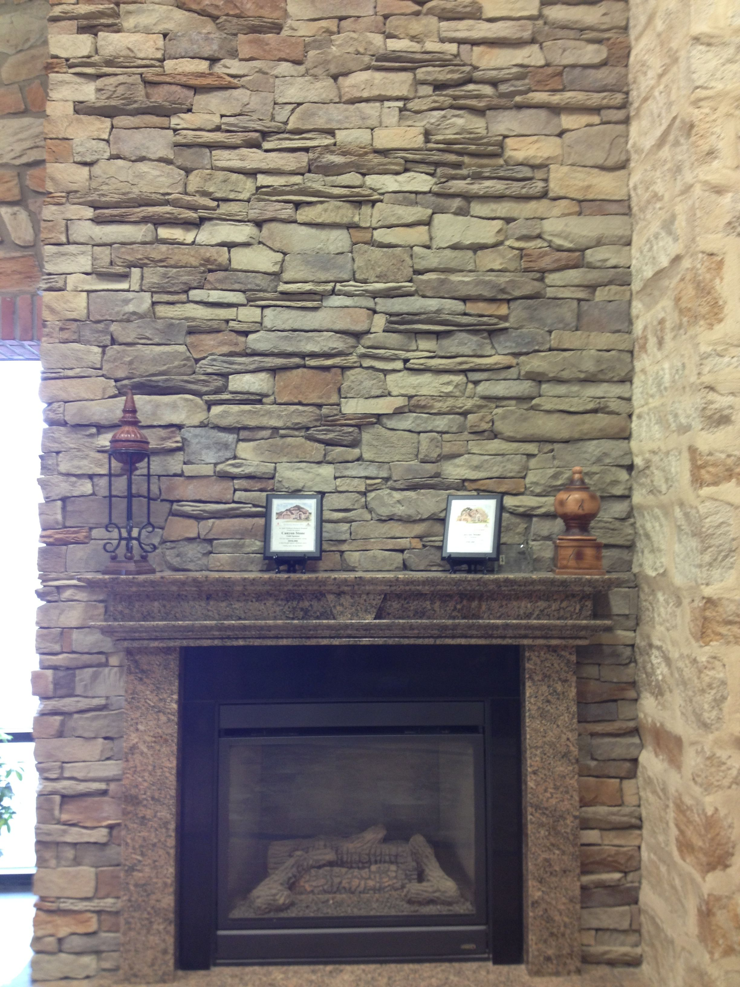 Fieldstone Fireplace Lovely Canyon Stone southern Ledge Suede