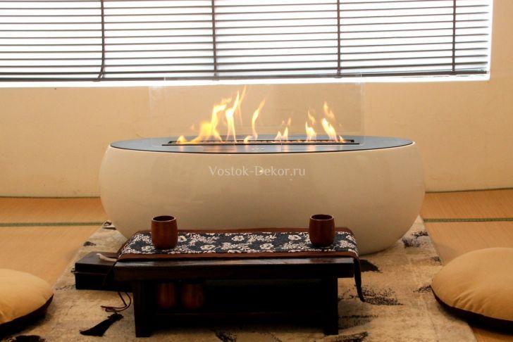Fire orb Fireplace Awesome БИОКАМИН АВТОМАТИЧЕСКИЙ Airtone – orb ДРина 110 см — Vostok