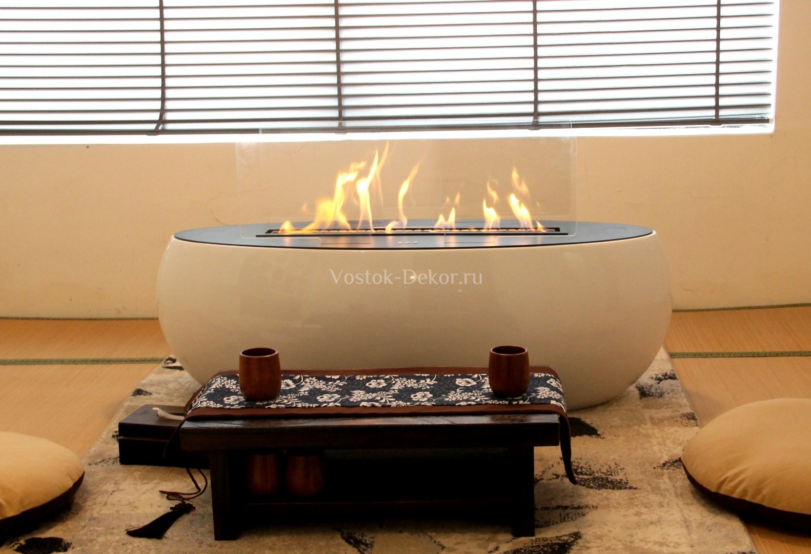 Fire orb Fireplace Awesome БИОКАМИН АВТОМАТИЧЕСКИЙ Airtone – orb ДРина 110 см — Vostok