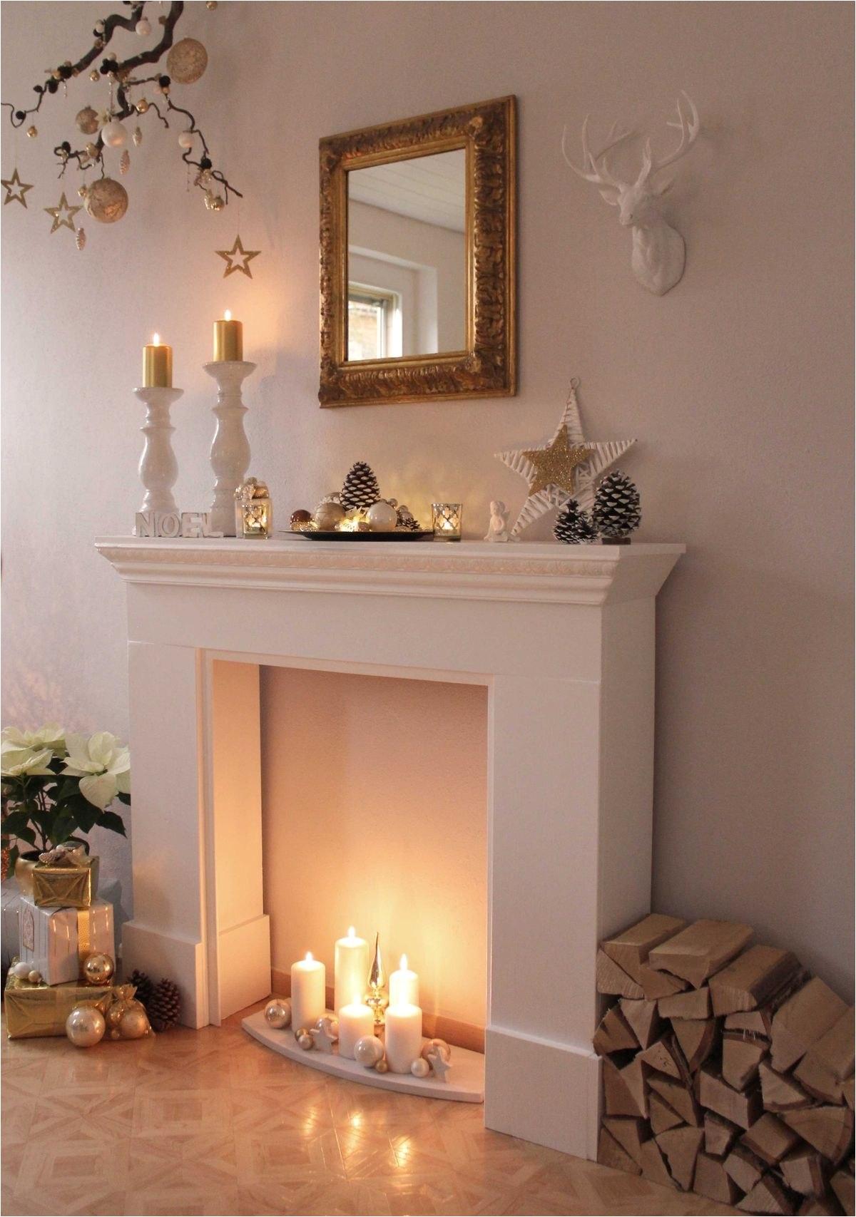 Fireplace and Mantel Luxury White Mantel Gas Fireplace