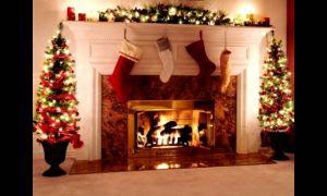 24 Beautiful Fireplace Background