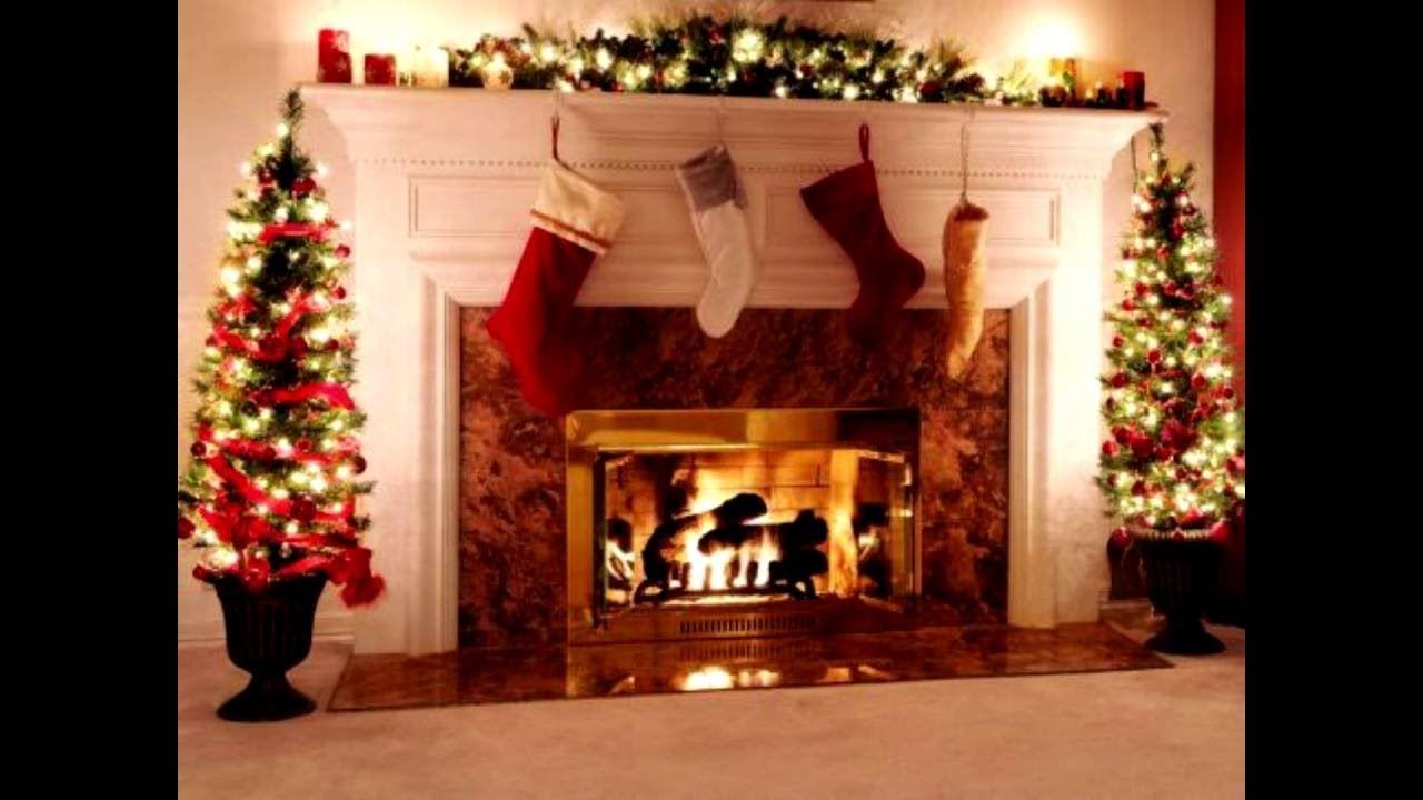 Fireplace Background Beautiful New Christmas Fireplace Background