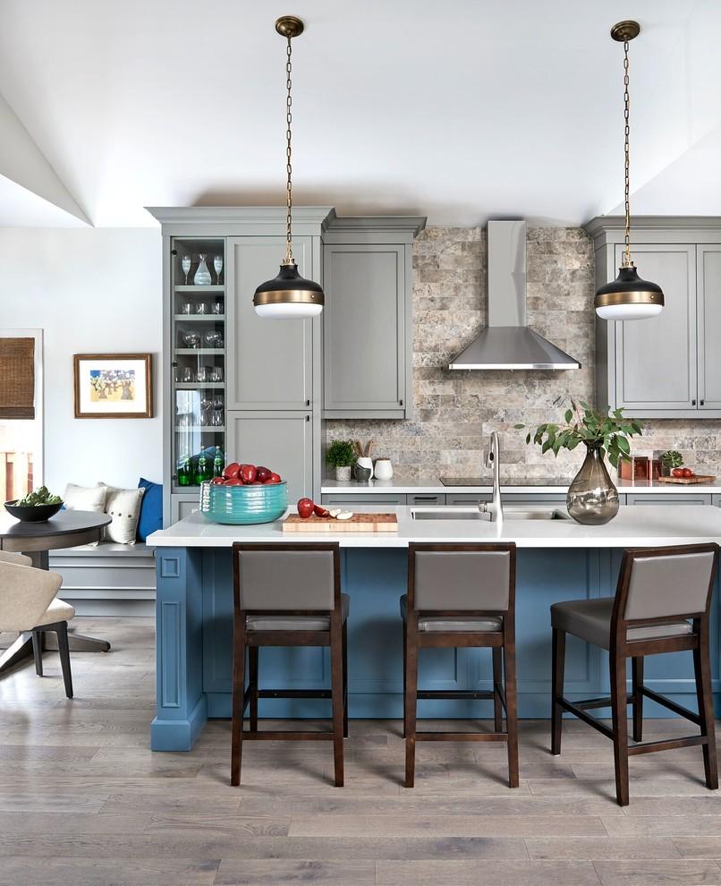 Fireplace Backsplash Fresh Humberside Transitional Kitchen toronto by Carriage