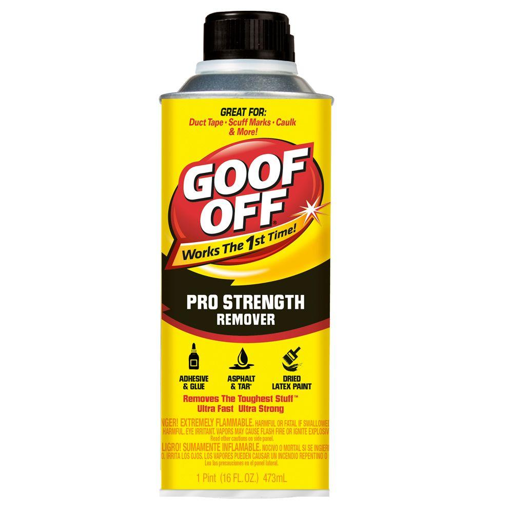 goof off paint thinner solvents cleaners fg654 64 1000