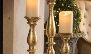 10 New Fireplace Candle Stand