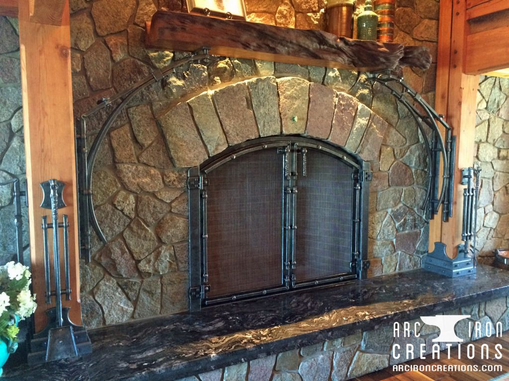 Fireplace Creations Best Of Fireplace Arc Iron Creations Fireplaces In 2019