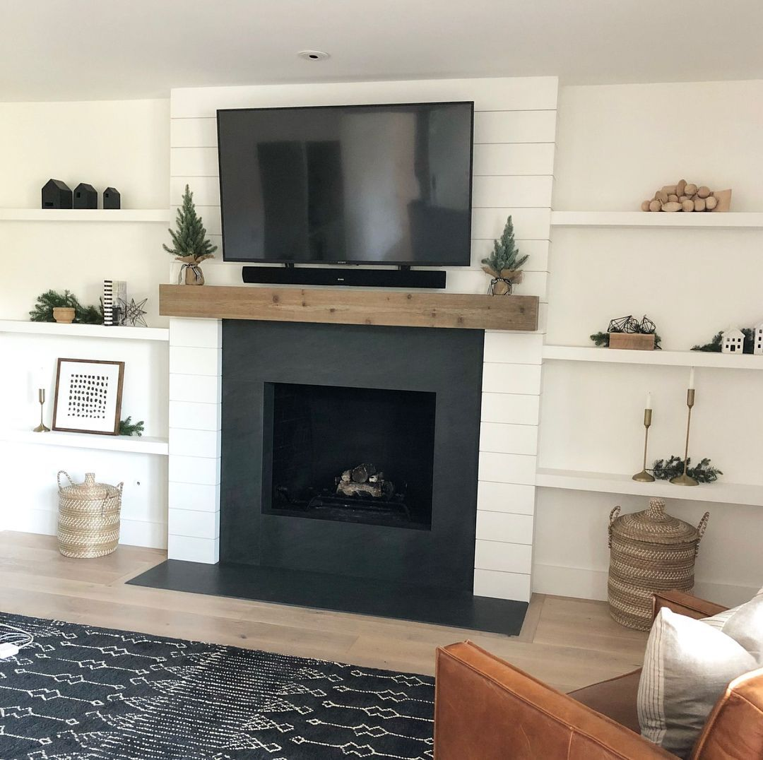 Fireplace Decor with Tv Luxury Easy and Cheap Ideas Fake Fireplace Front Porches Elegant