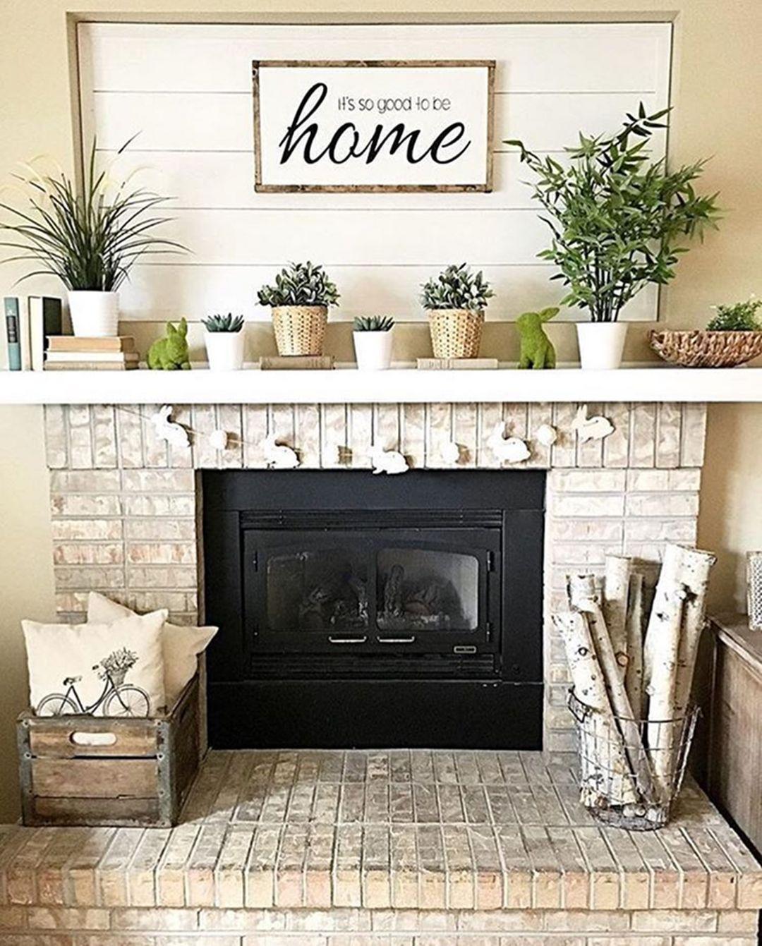 Fireplace Decorating Ideas Photos Inspirational Farmhouse Fireplace Mantel Decor Decor It S