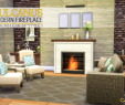 Fireplace Denver Unique the Sims 4 Peacemaker S Vulcanus Modern Fireplace