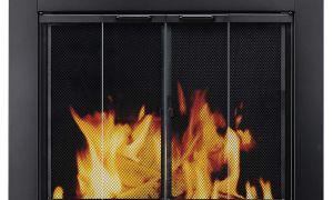 26 Fresh Fireplace Door Cover