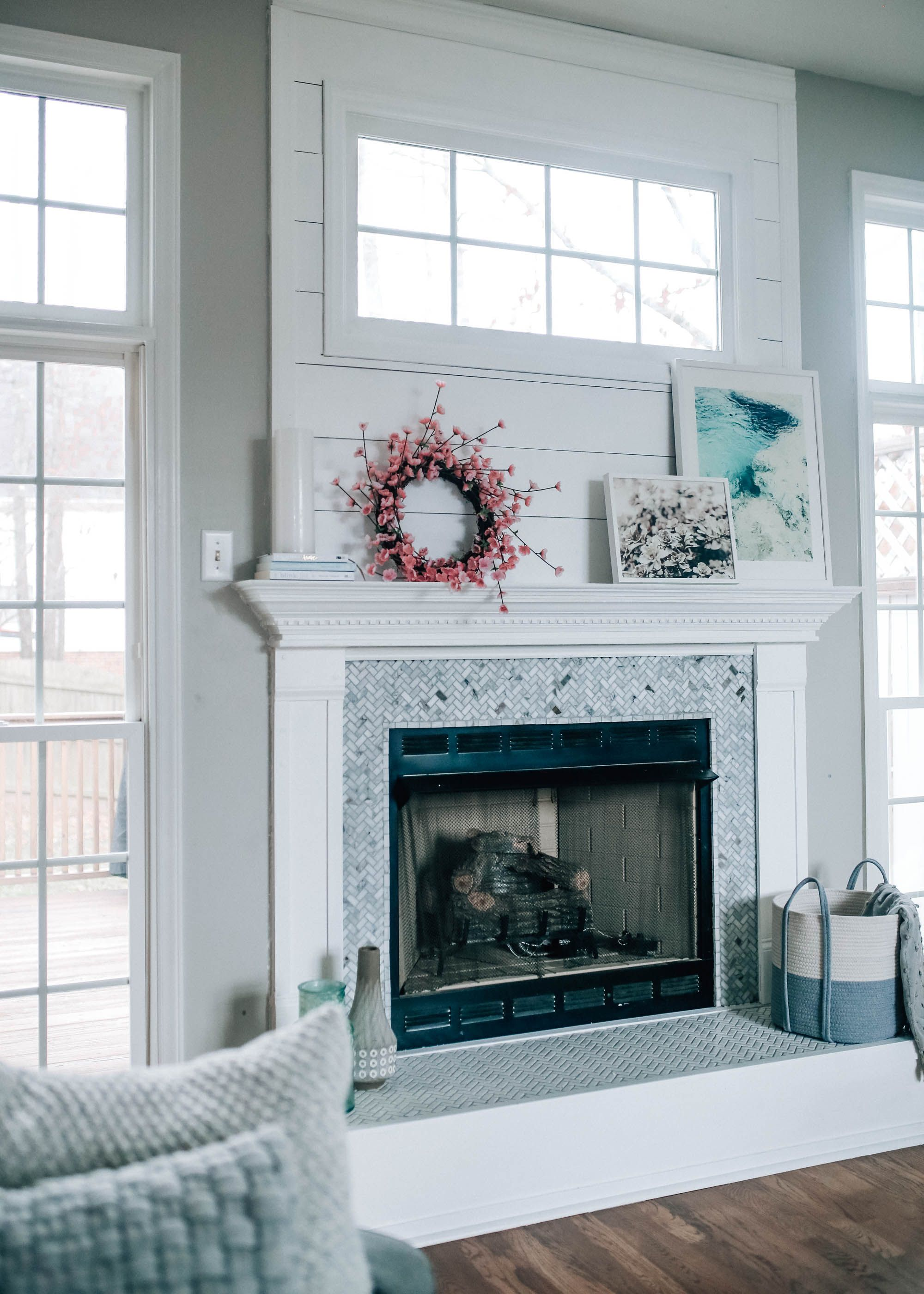 Fireplace Drawing Luxury Fireplace Makeover Reveal with the Home Depot X Pretty In