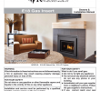 Fireplace Faceplate Fresh Regency Fireplace Products E18 Installation Manual