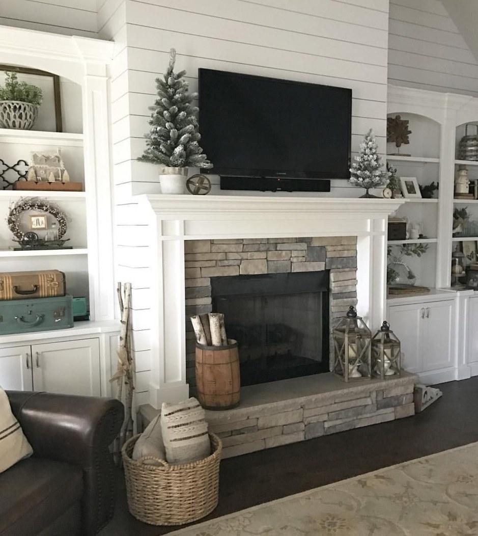 contemporary fireplace ideas 49 elegant farmhouse decor living room joanna gaines of contemporary fireplace ideas