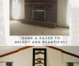 Fireplace Fix Awesome 5 Simple Steps to Painting A Brick Fireplace