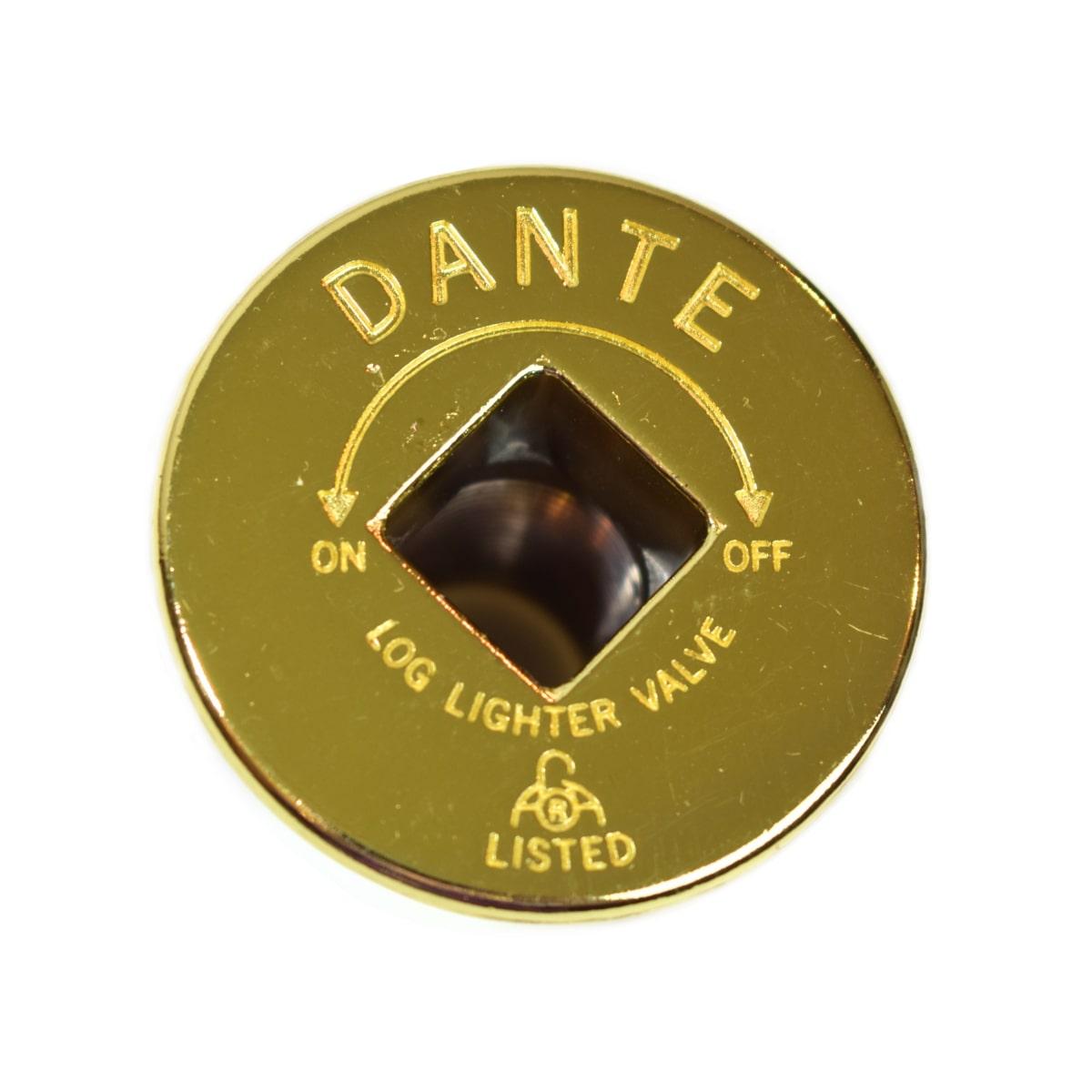 Dante escutcheon brass front